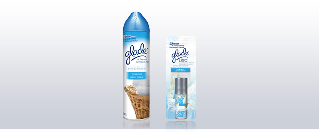 Buy 3: Glade® Aerosols or Ultra concentrated air fresheners coupon