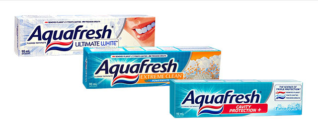Aquafresh toothpaste coupon