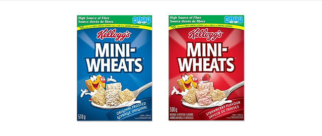 Kellogg's* Mini-Wheats* cereal coupon