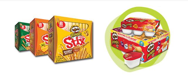Pringles* Stix and Snack Stacks coupon
