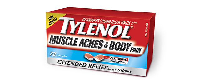 TYLENOL® Muscle Aches & Body Pain coupon
