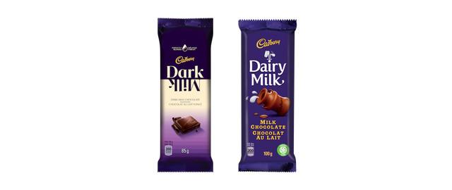 Buy 2: Cadbury Dark Milk or Dairy Milk Chocolate coupon