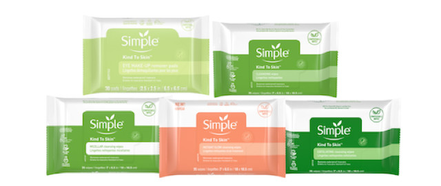 Simple Skin Care Facial Wipes coupon