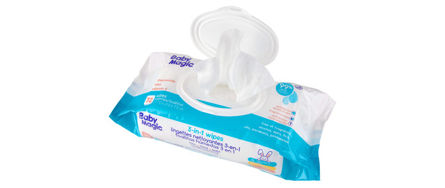 Baby Magic 3-in-1 Wipes coupon