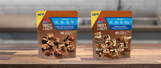 Atkins® Sweet & Salty Crunch Bites coupon