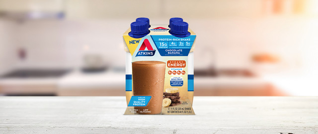 Atkins® Chocolate Banana Shakes coupon