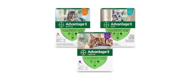 Advantage® II 2 Pack Cat coupon