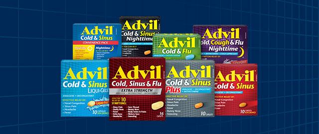 Advil Cold & Sinus coupon