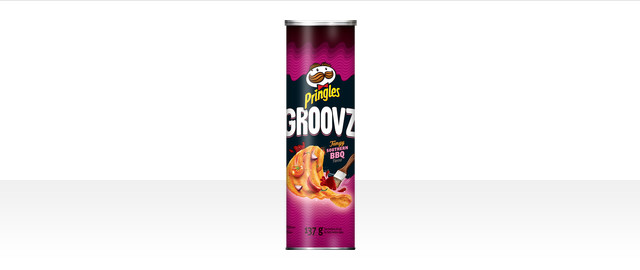 Pringles Groovz* Tangy Southern BBQ Flavour Potato Chips coupon