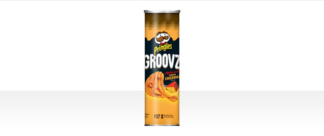 Pringles Groovz* Applewood Smoked Cheddar Flavour Potato Chips coupon