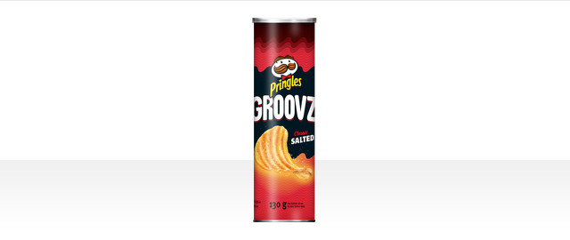 Pringles Groovz* Classic Salted Potato Chips coupon