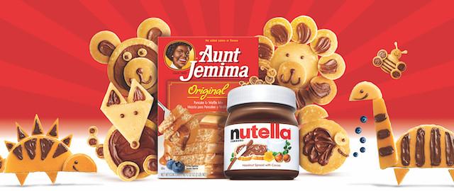 COMBO: Nutella® Hazelnut Spread + Aunt Jemima® coupon