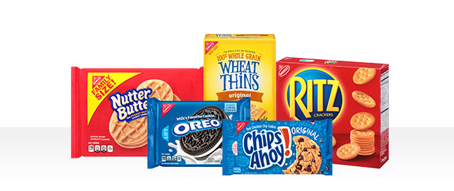 Select NABISCO Cookies or Crackers coupon