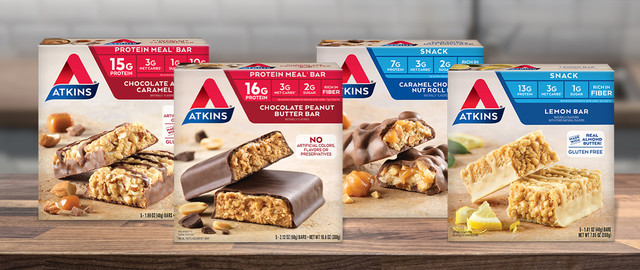 Select Atkins® Meal or Snack Protein Bars coupon