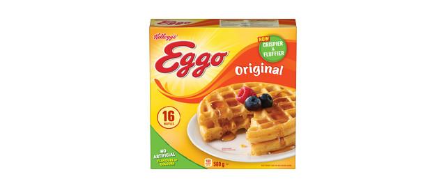 Kellogg's* Eggo* Waffles 16 count coupon