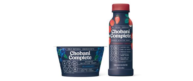 Buy 2: Chobani® Complete Yogurt Cups or Shakes coupon