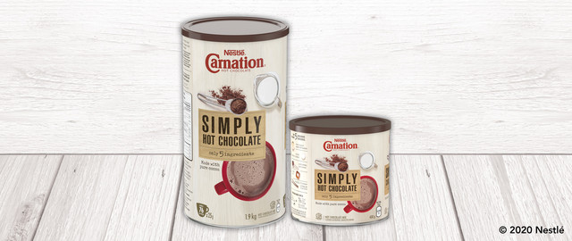 CARNATION® Simply Hot Chocolate coupon