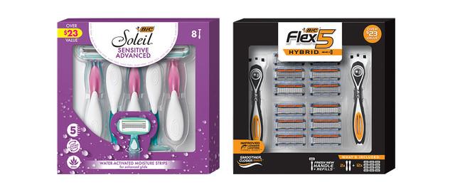 BIC Shavers Gift Packs coupon
