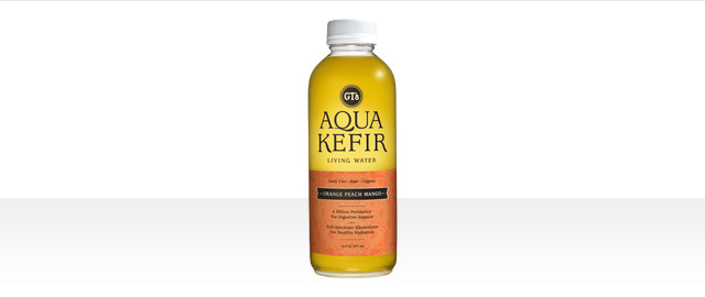 GT's Orange Peach Mango Aqua Kefir coupon