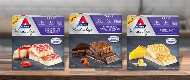 Atkins® Endulge Dessert Bars coupon
