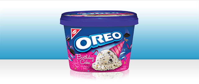 OREO Birthday Cake frozen desserts coupon