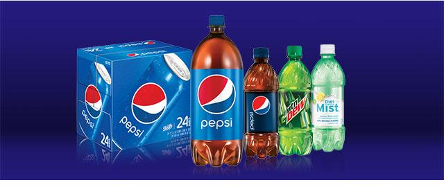 Select Pepsico soft drinks coupon