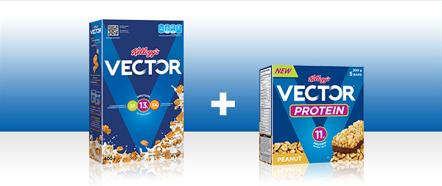 Kellogg's* Vector* Meal Replacement + Vector* Protein Bar coupon