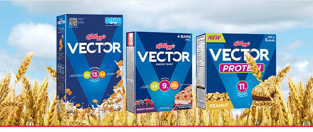 Buy 2: Kellogg's* Vector* products coupon