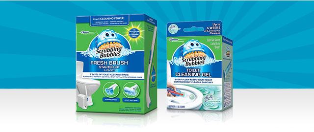 Scrubbing Bubbles® Toilet coupon