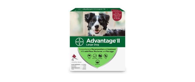 Advantage® II 4 pack Dog coupon