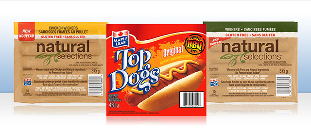 Buy 2: Maple Leaf Hot Dogs coupon
