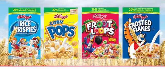 Select Kellogg's* Kids cereals coupon