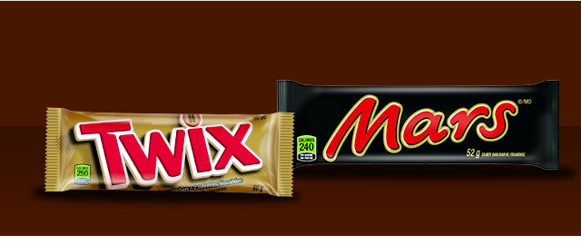 BUY 2: TWIX™ or MARS® candy bars coupon