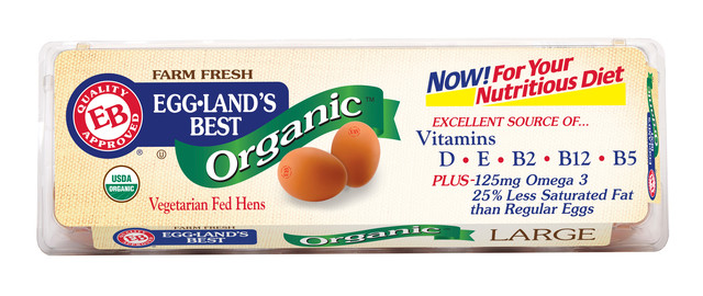 Eggland's Best Organic Eggs coupon