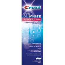 Crest 3D White Advanced Vivid Toothpaste coupon