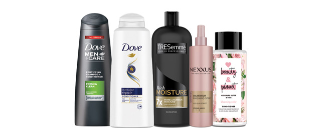 Unilever Hair Care Products coupon