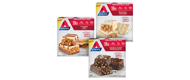 Atkins® Birthday Cake or S'mores Meal Bars coupon