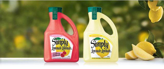 Simply Lemonade® 2.36L  coupon