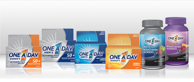 One A Day® Multivitamins coupon