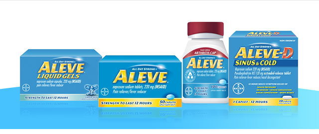 Aleve® Pain Reliever coupon