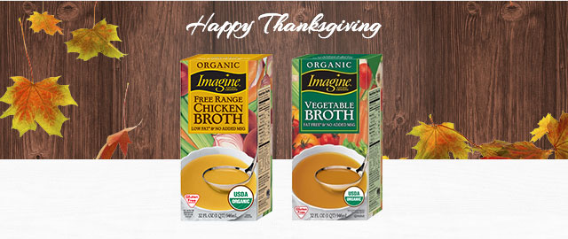 Imagine® Broths and Cooking Stocks coupon
