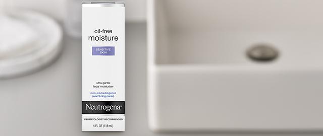Neutrogena® Oil-Free Moisture Facial Moisturizers coupon