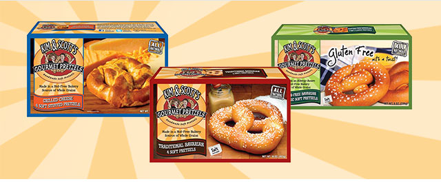 Kim & Scott's® Gourmet Pretzel products coupon