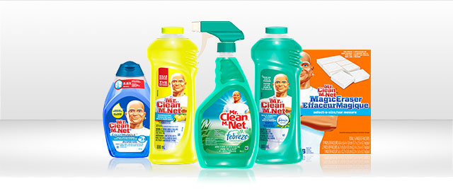 Mr. Clean products coupon