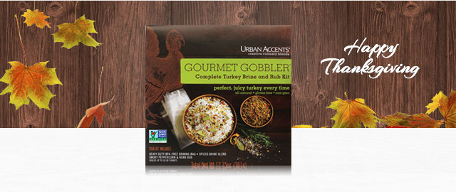 Urban Accents Gourmet Gobbler™ Complete Turkey Brining Kit coupon