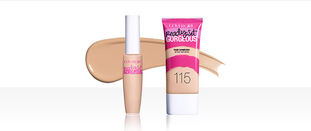 COVERGIRL Ready Set Gorgeous products coupon