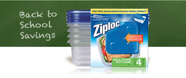 Ziploc® brand bag or container coupon