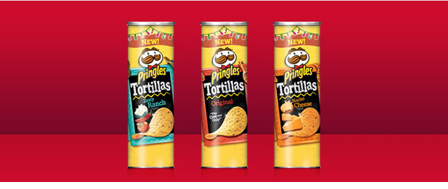 Pringles Tortilla products coupon