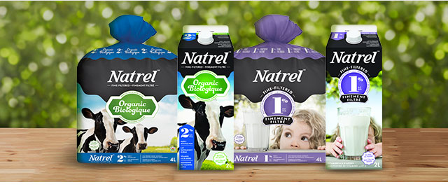 Natrel Fine-filtered or Organic Milk  coupon