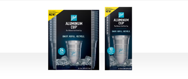 Ball Aluminum Cups coupon